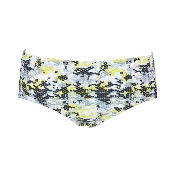 Arena Mens Camouflage Black Yellow Brief