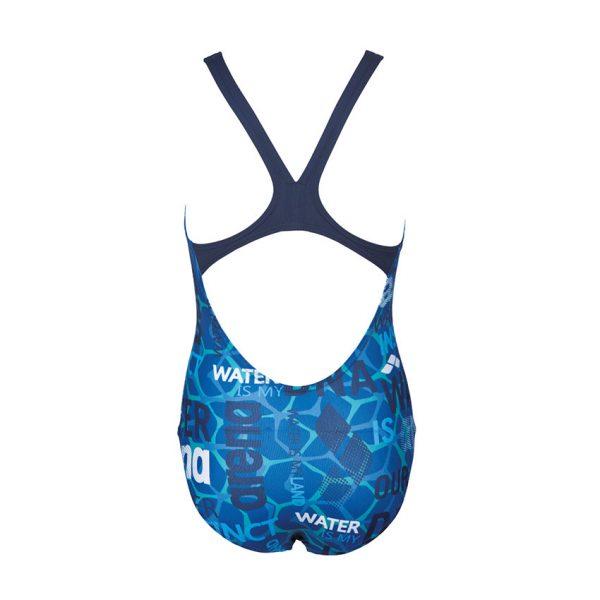 Arena Evolution Girls Blue Swimsuit