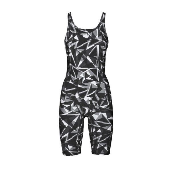 Arena Shattered Black Legged Swimsuit