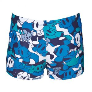 Arena Boys Camo Kun Blue Swim Shorts