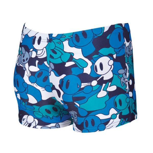 Arena Boys Camo Kun Blue Swim Shorts
