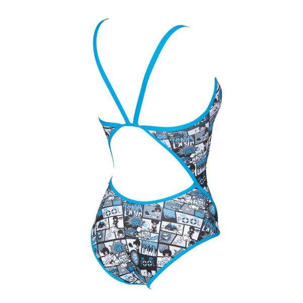 Arena Comics Blue Swimsuit