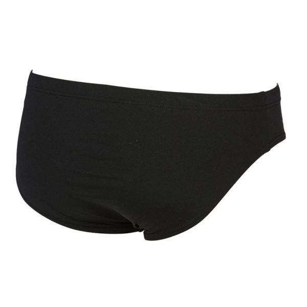 Arena Mens Black Yellow Iridiscent Swim Brief
