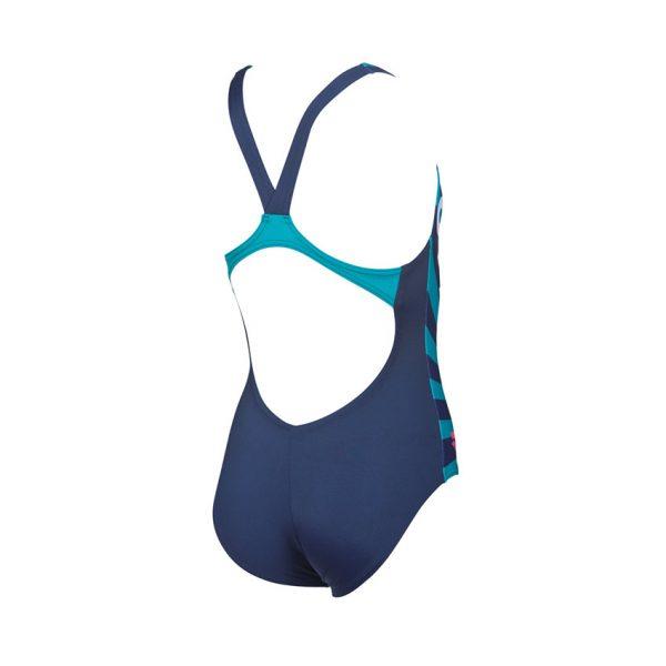 Arena Swim&Roll girls swimsuit blue