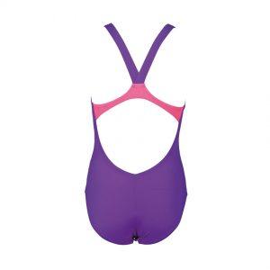Arena Swim&Roll girls swimsuit purple