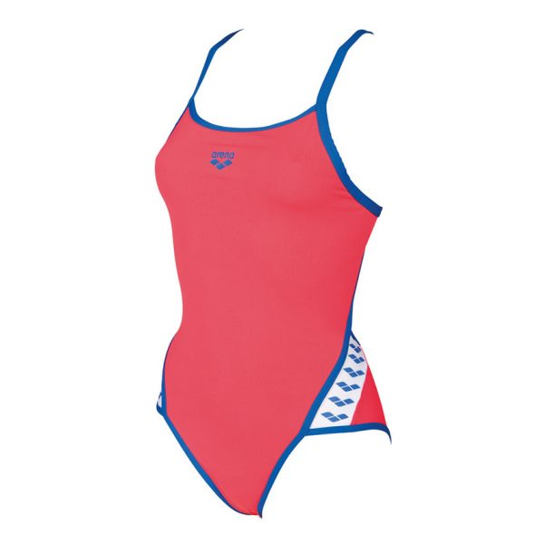 Red Arena Team Stripe Swimsuit
