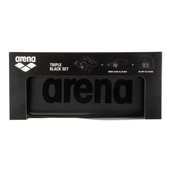 Arena Limited Edition Triple Black Set