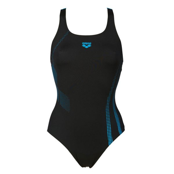 Black Turquoise Arena Shadow Swimsuit