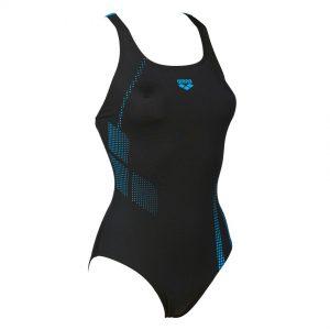 Black Turquoise Arena Shadow Swimsuit