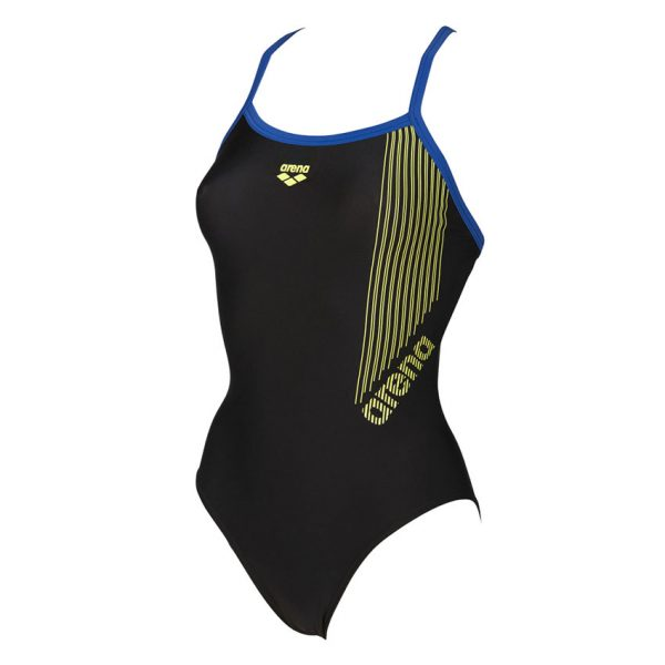 Arena Ladies Black Slipstream Swimsuit