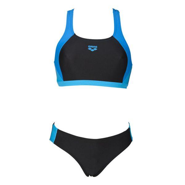 Arena Ren Black Blue Bikini