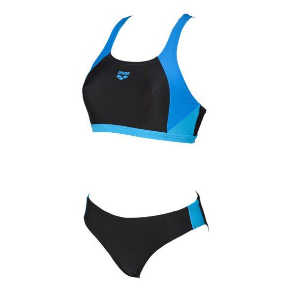 Arena Ren Black Blue Two Piece Bikini