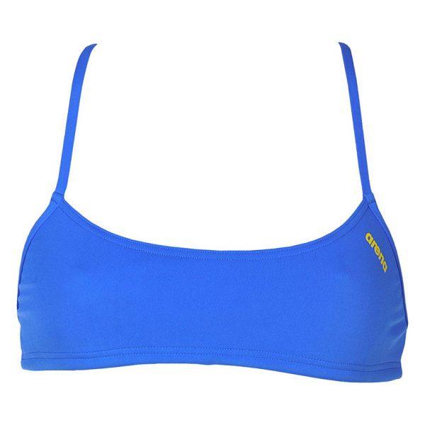 Blue Arena Bandeau Bikini Top