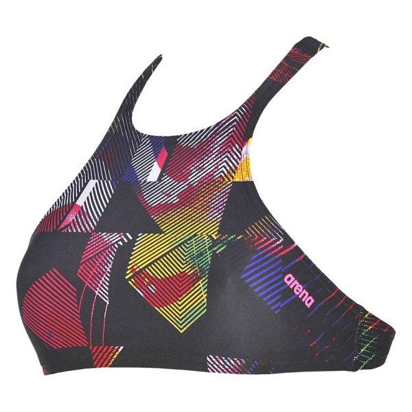 Multi Arena Crop Bikini Top
