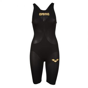 Arena Black Carbon Air 2 Open Back Suit