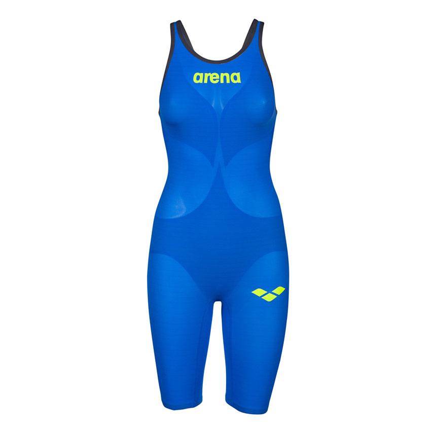 995bdaf3879 Blue Arena Carbon Air 2 Open Back Suit is lightweight yet compressive.