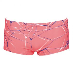 Arena Fluo Red Water Low Waist Shorts