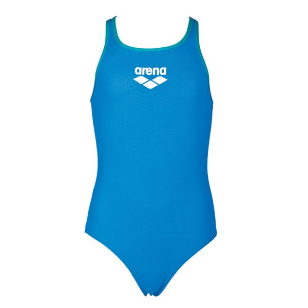 Arena BigLogo Girls Blue Swimsuit