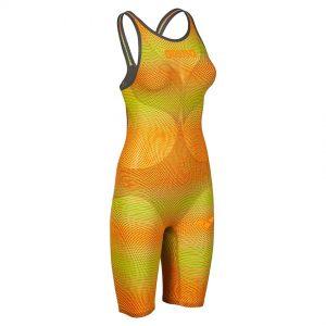 Lime Orange Arena Carbon Air 2 Open Back Suit