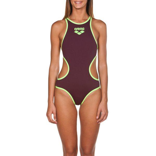 Biglogo One Arena Wine Swimsuit