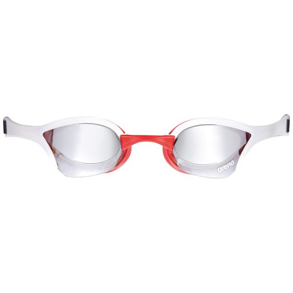Arena Cobra Ultra Mirror Racing Goggles - Silver / White / Red