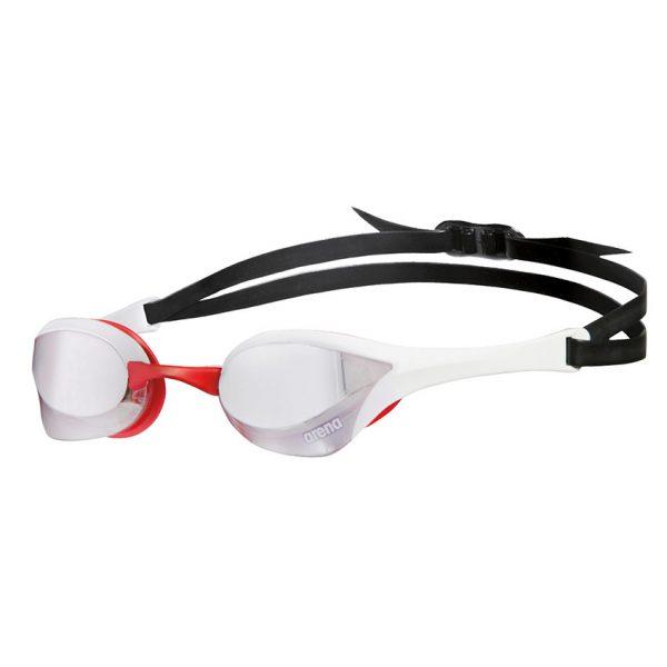 Arena Cobra Ultra Mirror Goggles White / Red