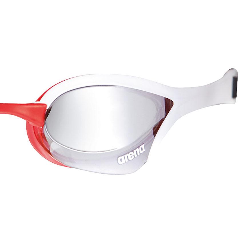 Cobra Ultra Mirror.Arena Cobra Ultra Mirror Goggles White Red