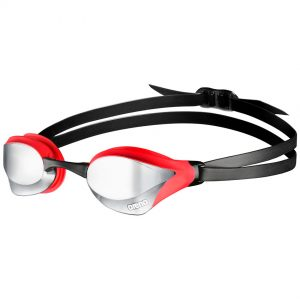 Red Arena Cobra Core Mirrored Racing Goggles