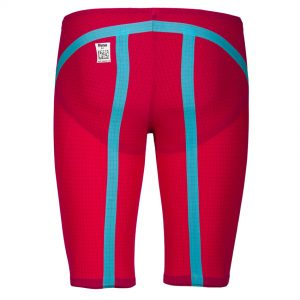 Red Turquoise Arena Carbon Flex VX Jammers