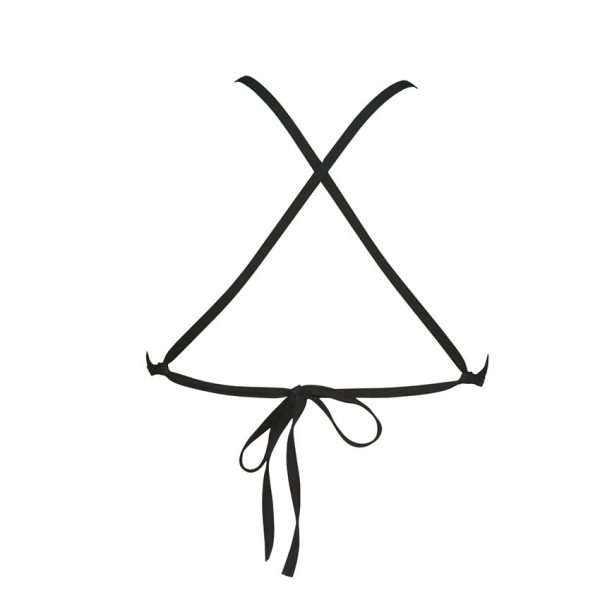 Patterned Arena Triangle Feel Bikini Top