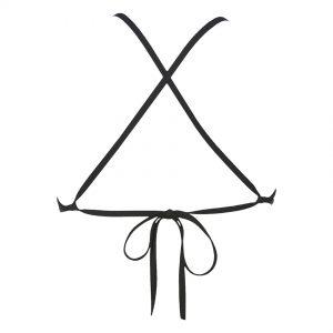 Black Arena Triangle Feel Bikini Top