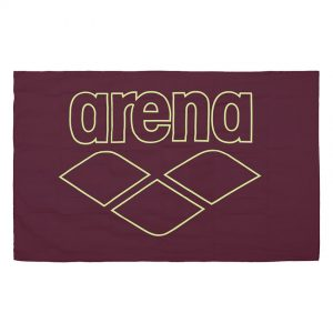 Arena Microfibre Pool Towel - Red Wine