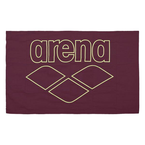 Arena Microfibre Pool Towel - Red Wine