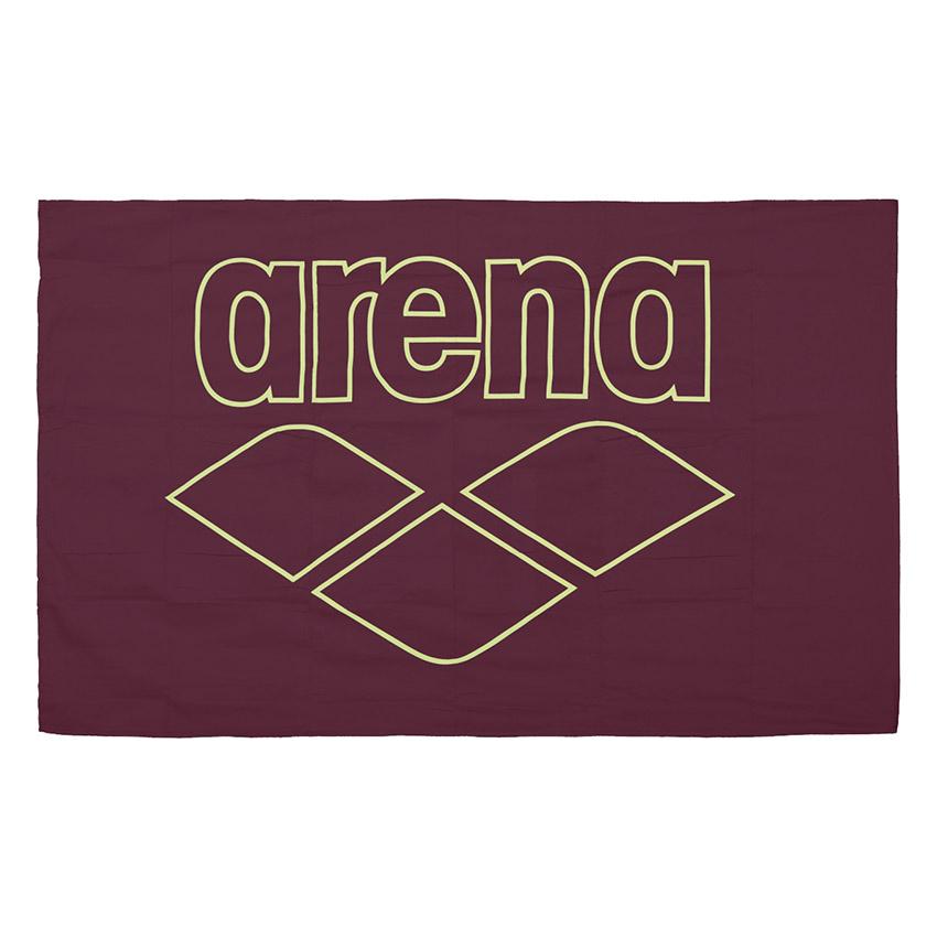 Arena Microfibre Pool Towel – Red Wine