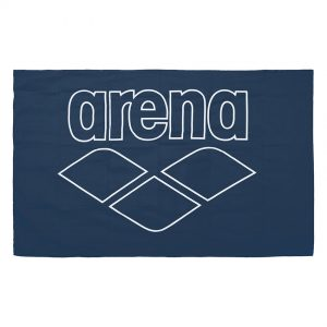 Arena Microfibre Pool Towel - Navy Blue