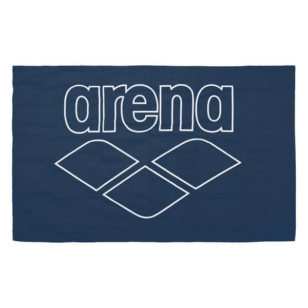 Arena Microfibre Pool Towel - Navy Blue
