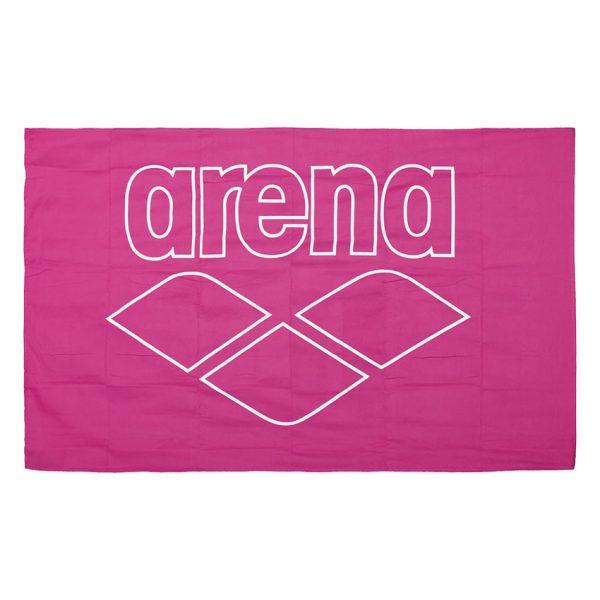 Arena Microfibre Pool Towel - Pink