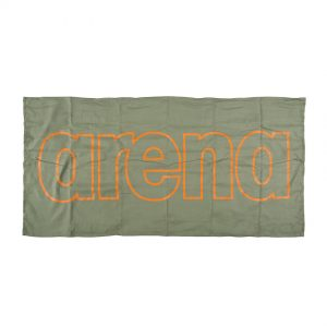 Arena Microfibre Gym Towel - Green