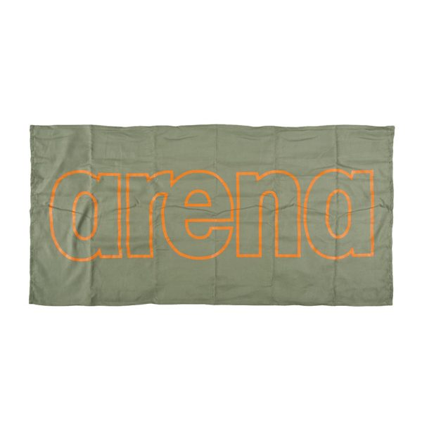 Arena Microfibre Gym Towel - Green