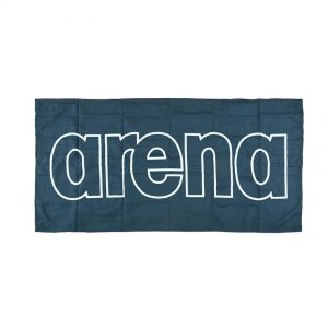 Arena Microfibre Gym Towel - Navy Blue