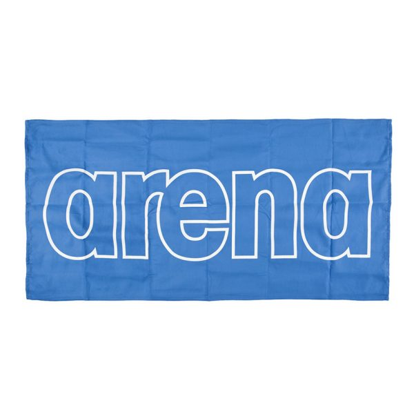 Arena Microfibre Gym Towel - Royal Blue