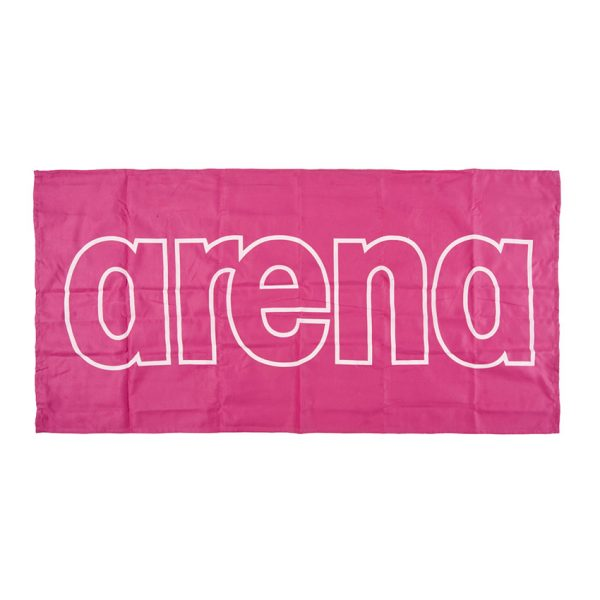 Arena Microfibre Gym Towel - Pink