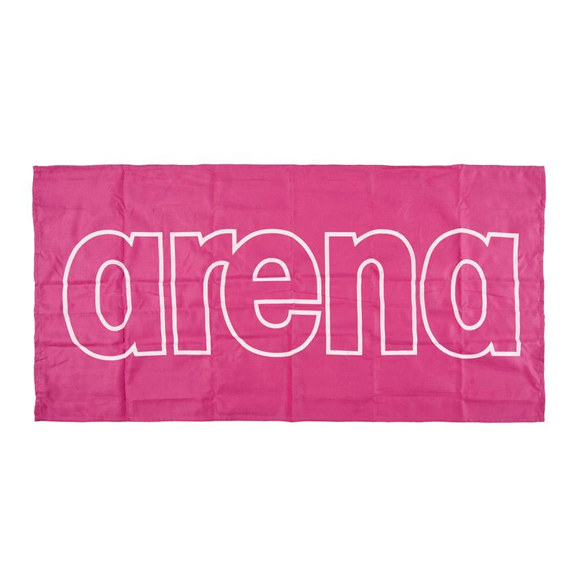 Arena Microfibre Gym Towel – Pink