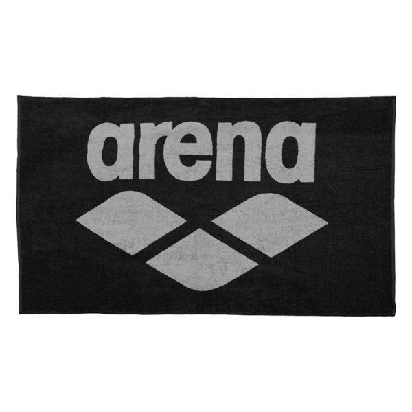 Arena Pool Towel - Black
