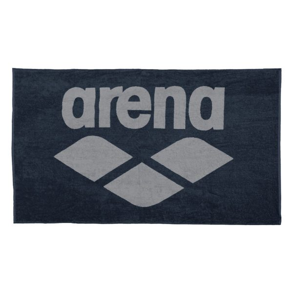 Arena Pool Towel - Navy Blue