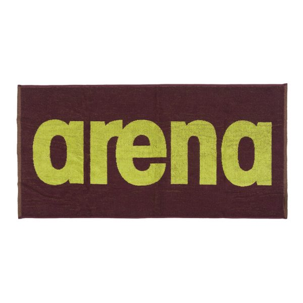 Arena Gym Towel - Red Wine