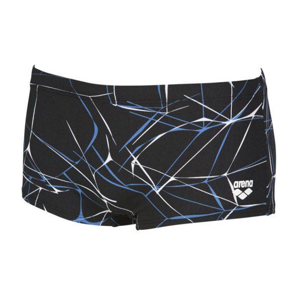Arena Black / Grey Water Low Waist Shorts