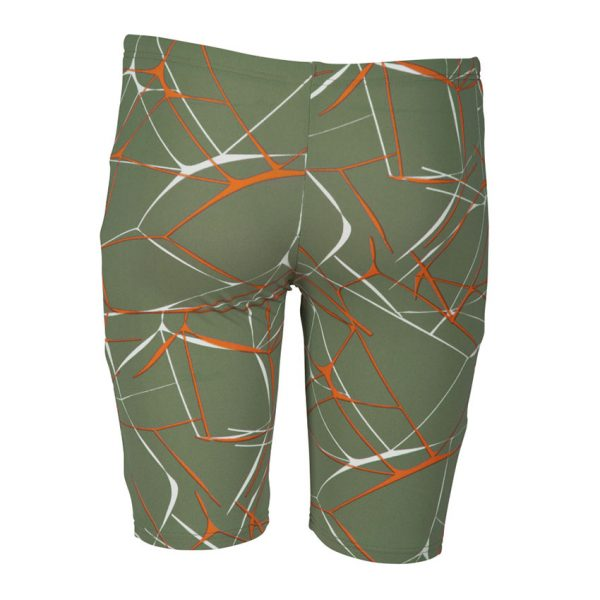 Arena Boys Green Water Jammers
