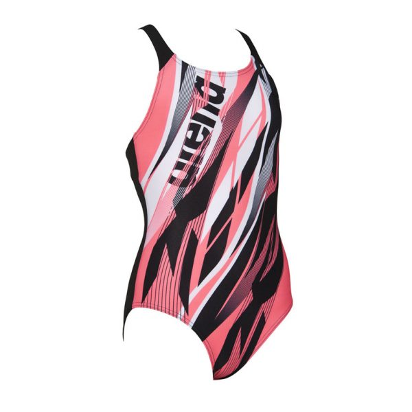 Arena Zephiro Girls Pink Swimsuit