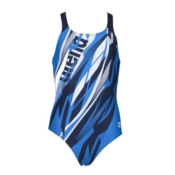 Arena Zephiro Girls Blue Swimsuit